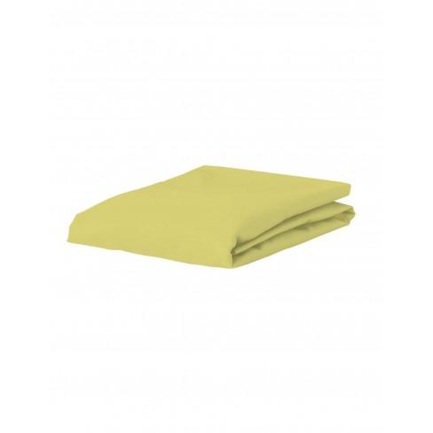 Долен чаршаф 90х200 жълт Premium Essenza