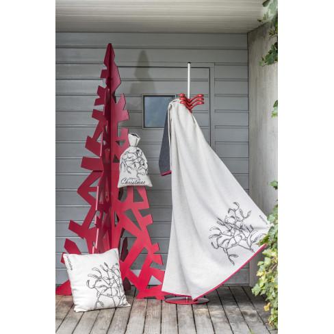 Одеяло Luca Mistletoe бяло 140x200см