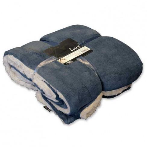 Одеяло Lars 150х200 см синьо