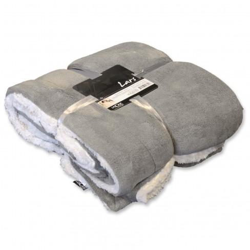 Одеяло Lars 150х200 см сиво