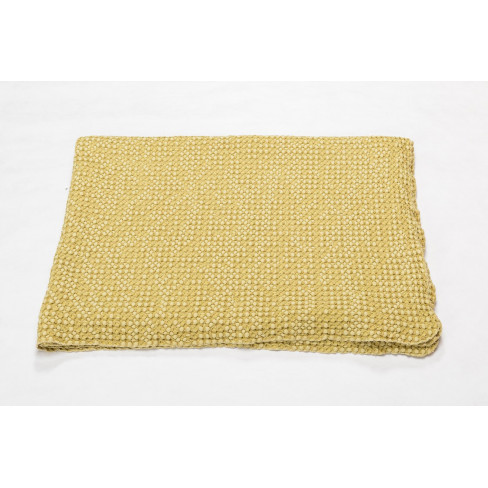 Одеяло Vigo Honeycomb жълто 140x200см