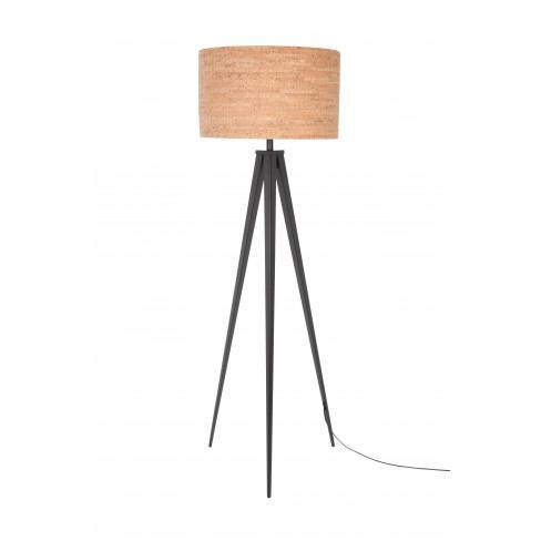 Подова лампа Cork 157 см черна