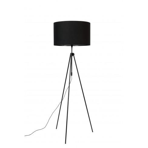Подова лампа 50х153/183см Lesley черна