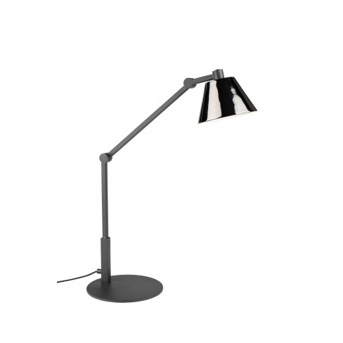 Настолна лампа 45см Lub черна