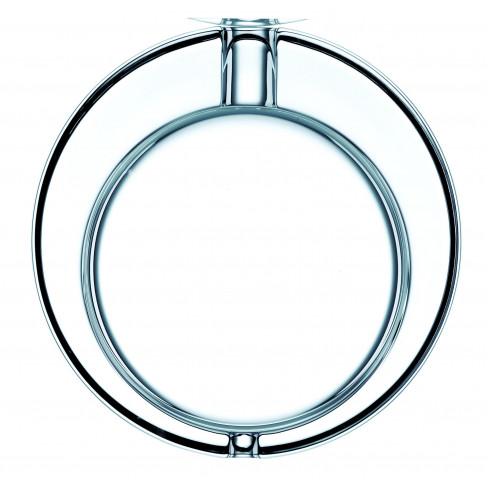 Кръгъл пепелник 16х4.5см прозрачен