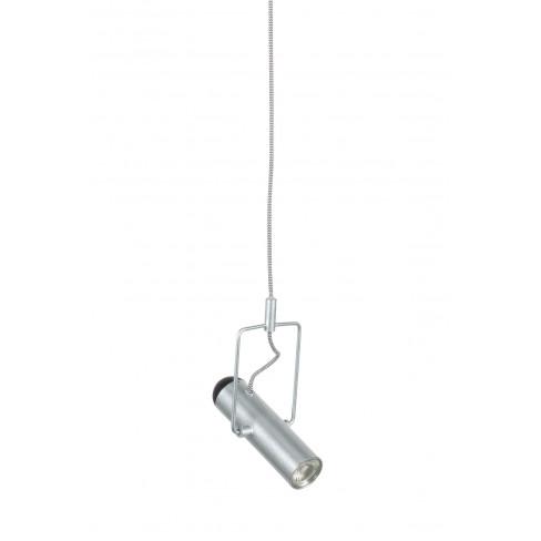 Висяща лампа Marlon 160см сива