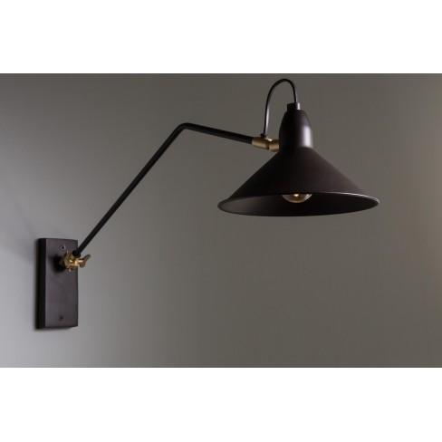 Стенна лампа Patt 70см черна