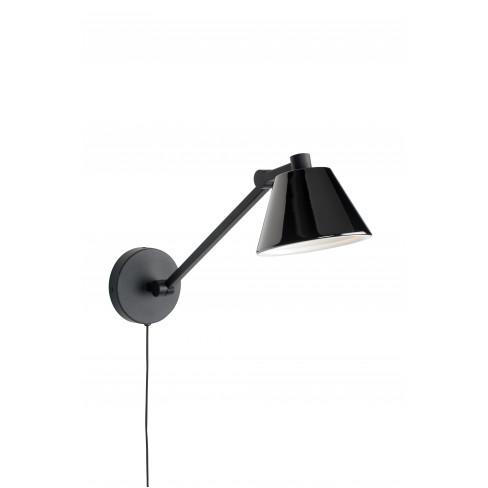 Стенна лампа 48см Lub черна