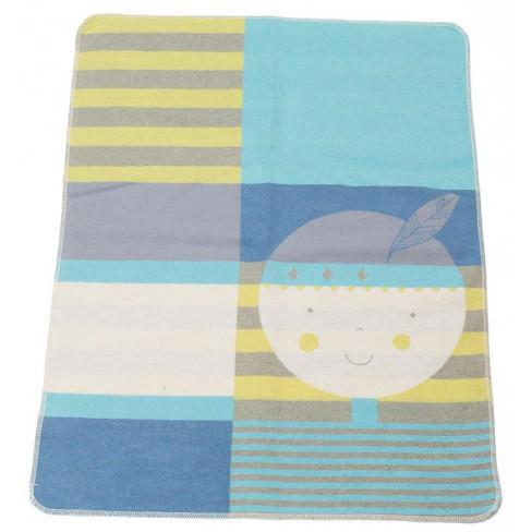Бебешко одеяло Juwel индианец 70x90см