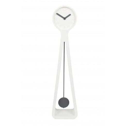 Часовник 111см Giant бял