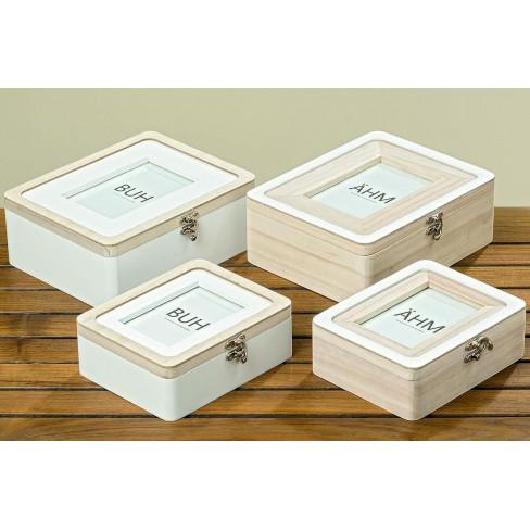 Кутия със снимка Milus 24см голяма два вида