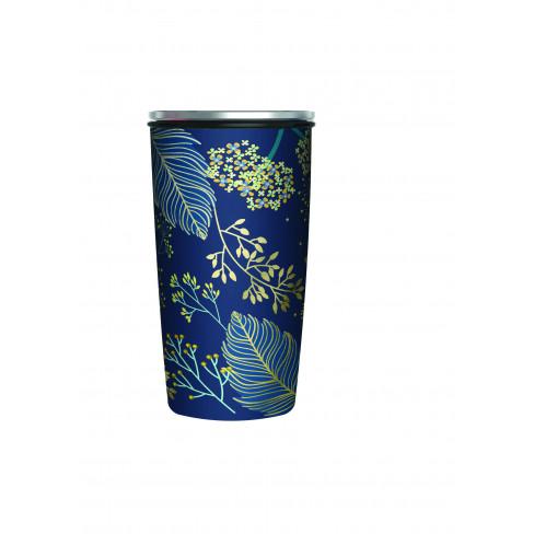 Бамбукова термочаша с капак 420мл Golden Leaves