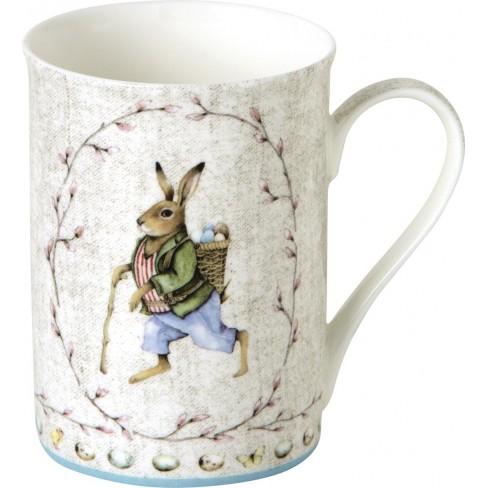 Чаша Mug 375мл Edward Rabbit