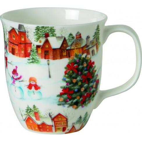 Чаша Mug 375мл Happy Christmas Time