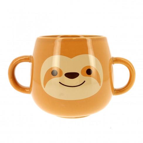 Чаша Mug с две дръжки Sloth
