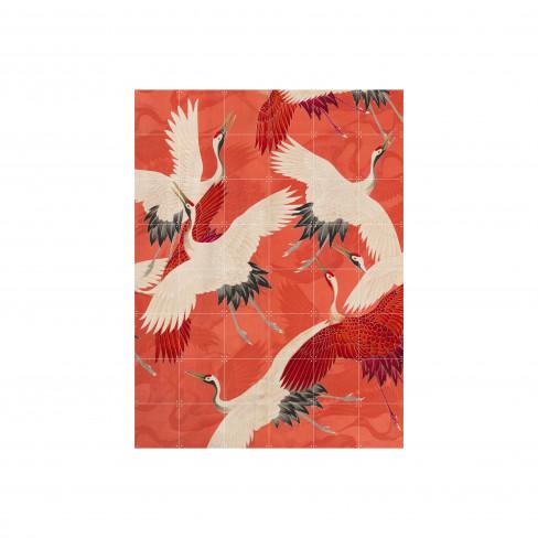 Пъзел за стена Ixxi 80х100см Kimono With Cranes S
