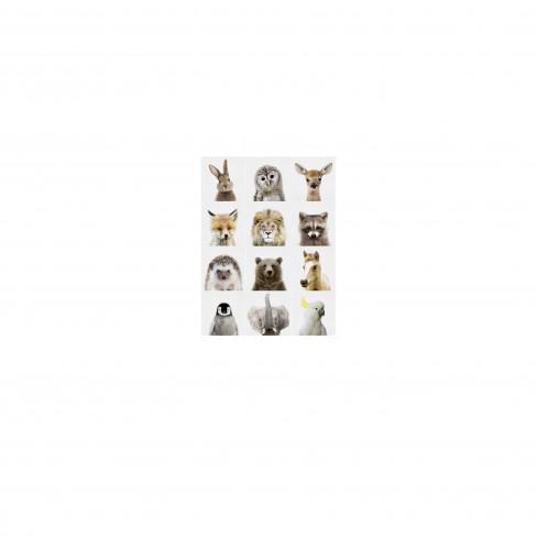 Пъзел за стена Ixxi 60х80см Animal Family
