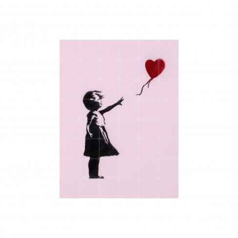 Пъзел за стена Ixxi 80х120см Bansky Love Icons S