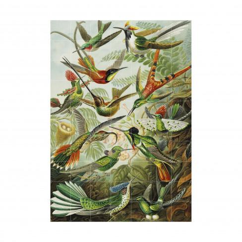 Пъзел за стена Ixxi 100х140см Hummingbirds L