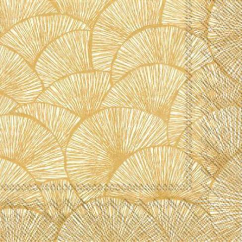 Салфетки на златни листа Lignes