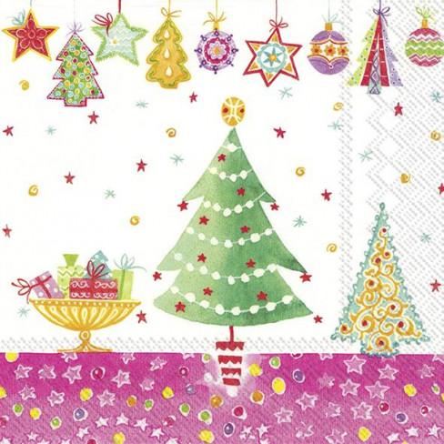 Салфетки 20бр Cheery Christmas