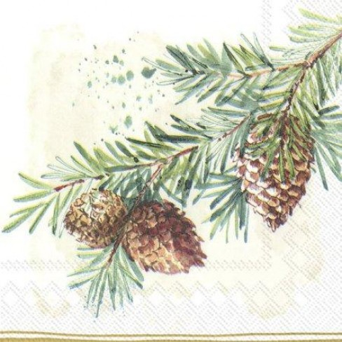 Салфетки 20бр Decorative Branches