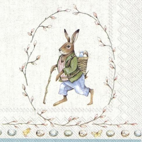 Салфетки 20бр Edward Rabbit