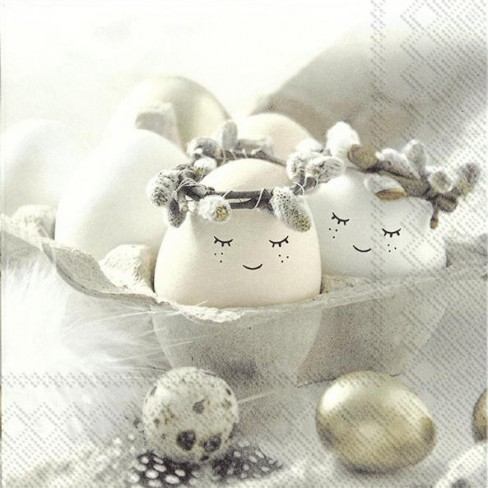 Салфетки 20бр Cute Eggs