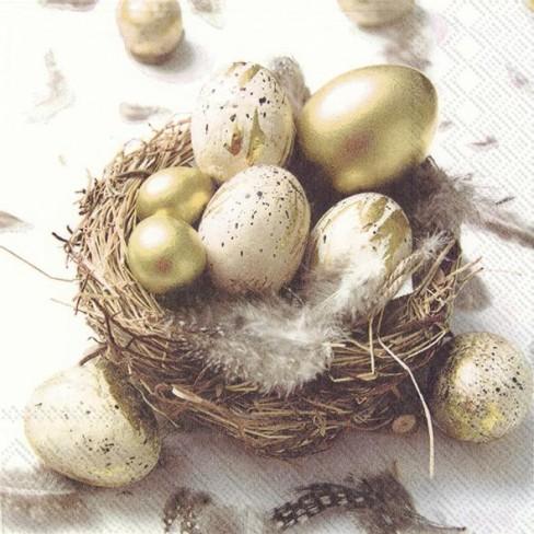 Салфетки 20бр Funny Golden Eggs