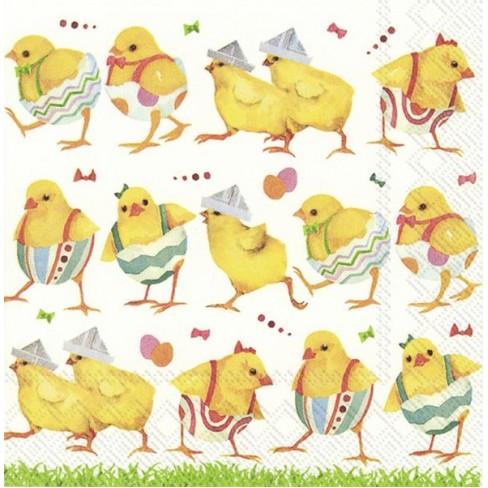 Салфетки 20бр Chicks On Catwalk