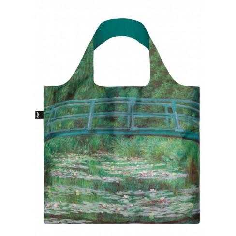 Чанта за многократна употреба Claude Monet Footbridge