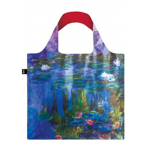 Чанта за многократна употреба Claude Monet Water Lilie