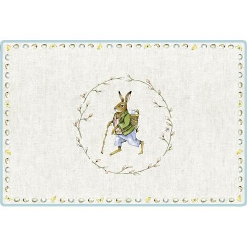 Подложка за хранене 30х40см Edward Rabbit