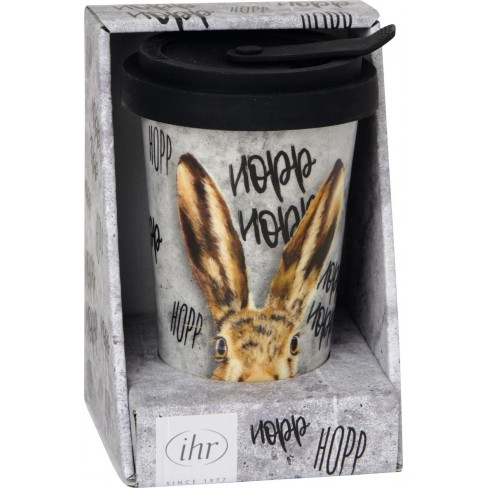 Двустенна чаша с капак 250мл Oh My Rabbit...