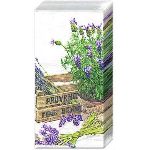 Носни кърпички с лавандула The Flavour Of Provence