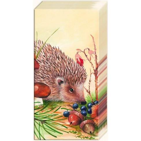 Носни кърпички 10 бр Nosy Little Hedgehog