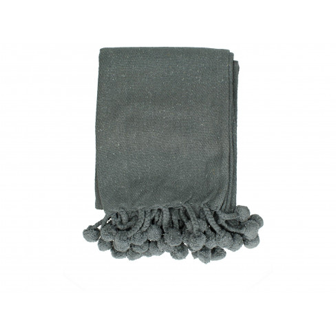 Одеяло 130x170см тъмносиво