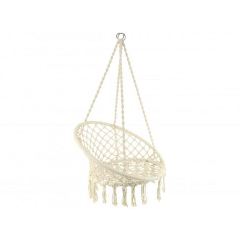 Висящо кресло 80х60х110см натурално