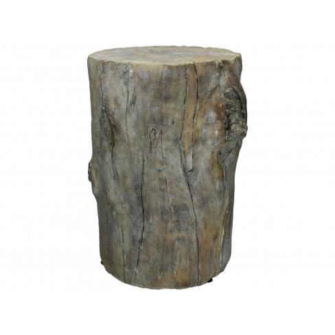 Декоративна фигура дънер 25х24.5х37см сива голяма