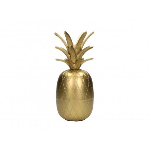 Буркан ананас 10x23 см златист