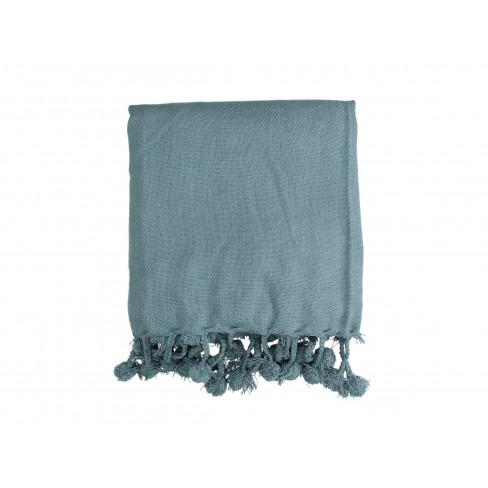 Одеяло 130x170 см синьо
