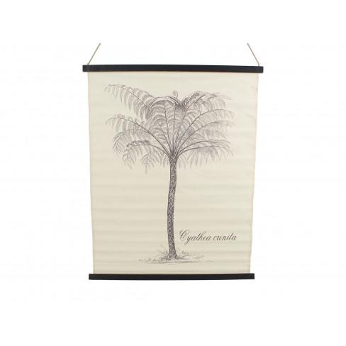 Декоративно пано 80x100 см палма