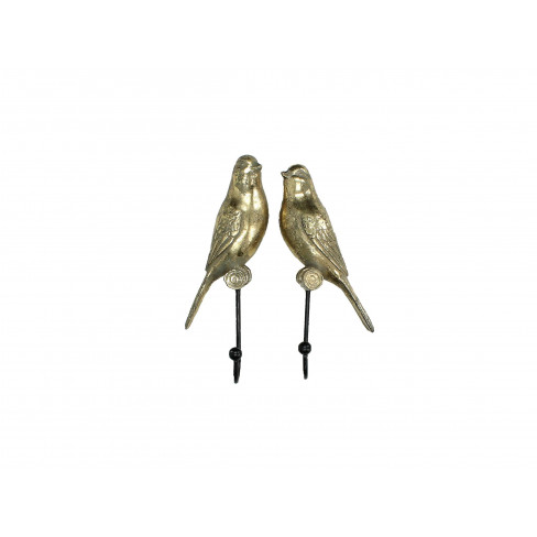 Закачалка птиче 6.5х4.5х20см златиста два вида
