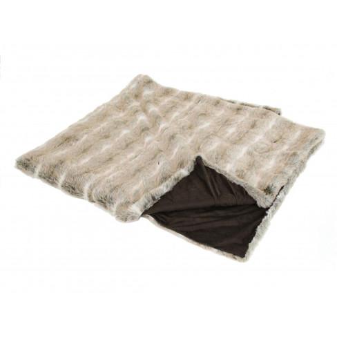 Одеяло/шалте 200х220 см лисица