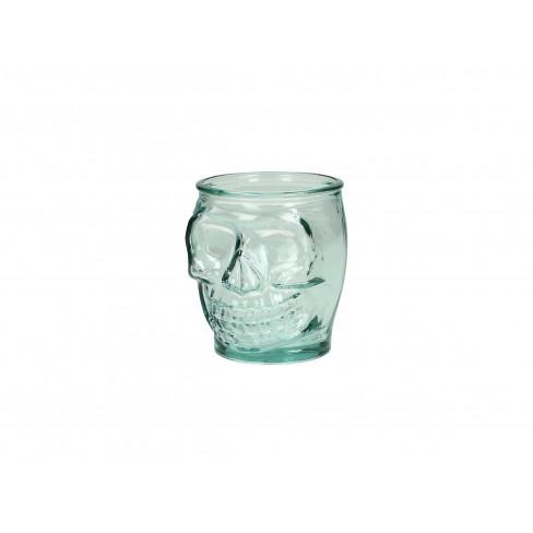 Чаша Skull 400 мл синя