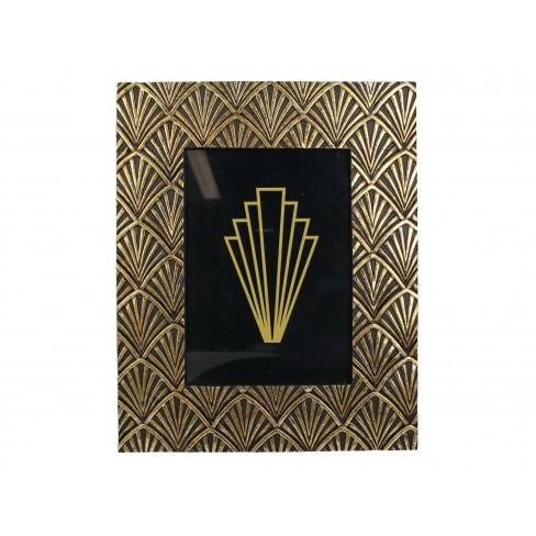 Рамка за снимка с орнаменти 13х18см златиста