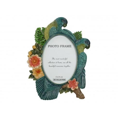 Рамка за снимка 13х18см с папагали