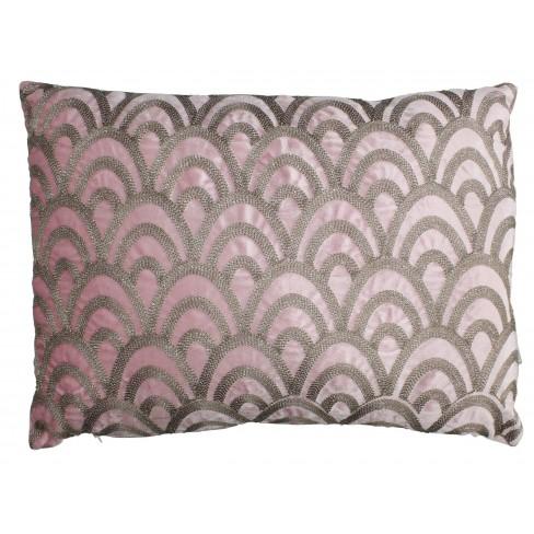 Възглавница 40х60см Velvet розова