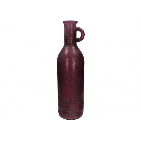 Ваза 14х50см Recycled лила
