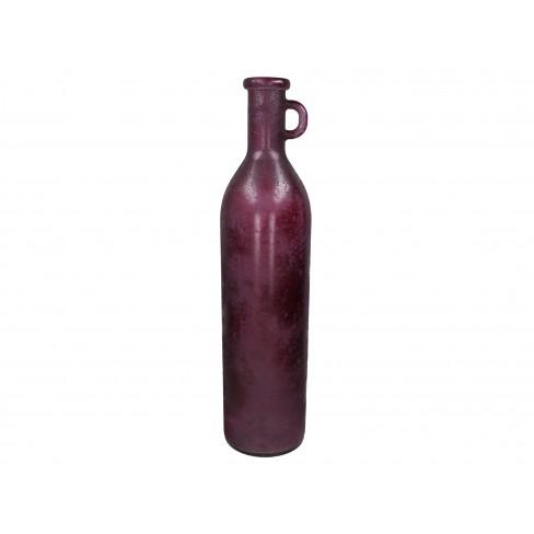 Ваза 18х75см Recycled лила